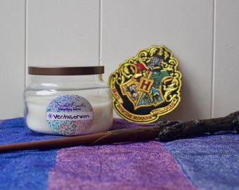 Veritaserum - Wizarding World- organic soy candle 8oz - handpoured aromatherapy natural candle - apothecary jar - essential oil