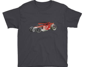 Car Youth Short Sleeve T-Shirt