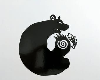 Seven Deadly Sins King/Sloth Decal
