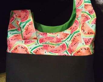 Large Market Tote, Watermelons