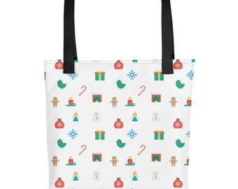 Adorable Christmas Tote for Your Gifts