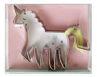 Unicorn Cookie Cutter , Unicorn Shape Cutter , Unicorn Party