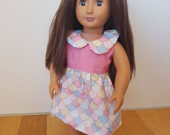 Doll Dress 18 inch fit American girl, Journey girl Our generation Doll