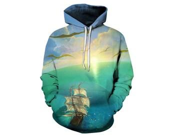 Nature Hoodie, Nature Sweatshirt, Outdoor Hoodie, Hoodie Art, Hoodie Pattern, Pattern Hoodie, Graphic Hoodie, Hoodie, 3d Hoodie - Style 1