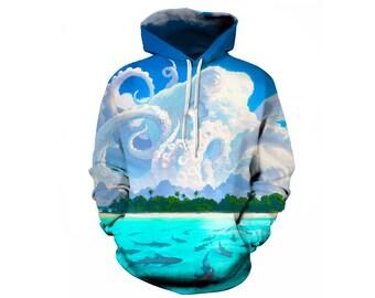 Nature Hoodie, Nature Sweatshirt, Outdoor Hoodie, Hoodie Art, Hoodie Pattern, Pattern Hoodie, Graphic Hoodie, Hoodie, 3d Hoodie - Style 3