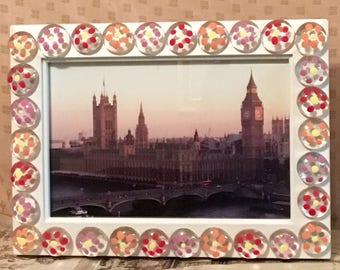 English Sunset Photo and Frame
