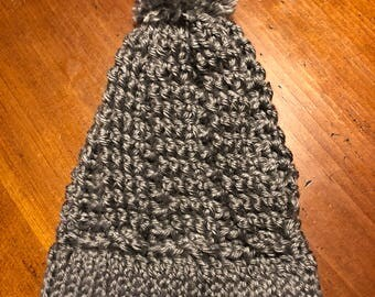 Cabled Slouchy Beanie