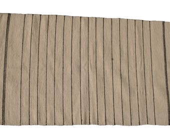 Unique wool carpet, hand woven, 84x142cm, Ascendis CAsA6