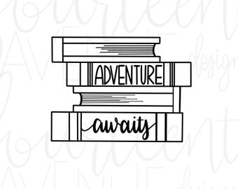 Download Adventure Awaits SVG Mountains Quote svg SVG for Cricut
