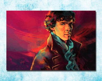 Sherlock, Canvas Framed Wall Art
