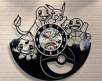Gift For Kids Vinyl Record Wall Clock