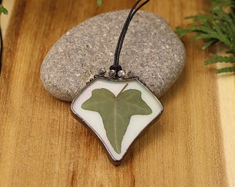 Ivy leaf jewelry etsy ivy leaf necklace real ivy leaf pendant woodland jewelry boho leaf pendant real leaf necklace botanical mozeypictures Image collections