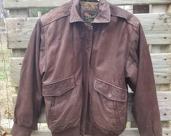 1970's Reed genuine leather jacket