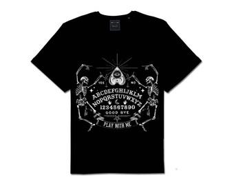 Dancing Skeleton Ouija Board Tee