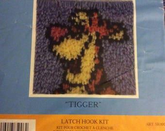 Latch hook kit - Tigger