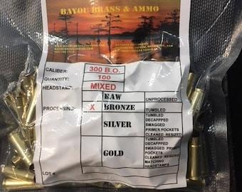 300 Blackout Once Fired Brass