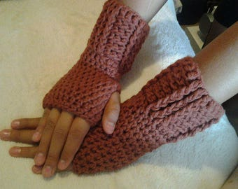 Fingerless gloves,  Handmade. Crochet Gloves, Driving gloves, Crochet Wrist Warmers  PC154