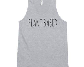 Plant Based Vegan Vegetarian Classic Tank Top