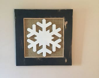 Snowflake Wall Decor