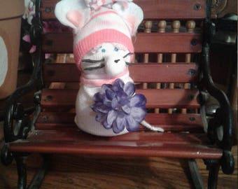 Little Blue Flower Mouse
