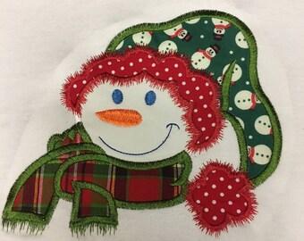 Girls Christmas Shirt, Girls Snowman Shirt, Girls Top, Toddlers Christmas Top, Kids Snowman Shirt, Baby Christmas Top, Christmas Gift