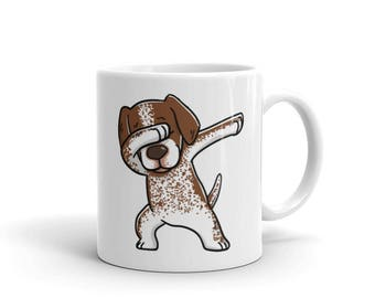Cute Dabbing German Shorthaired Pointer Mug Funny Dab Dance Dog Gift