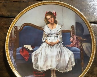Norman Rockwell Waiting At The Dance