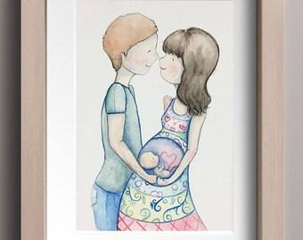 Commission an Artwork- Watercolour Illustration