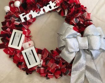 Friends Rag Wreath