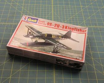 Revell 1/72 scale OS 2U 3 Kingfisher , plastic model kit