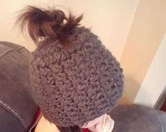 Adult Bun Hat