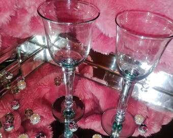 Glass wine Romance glass set