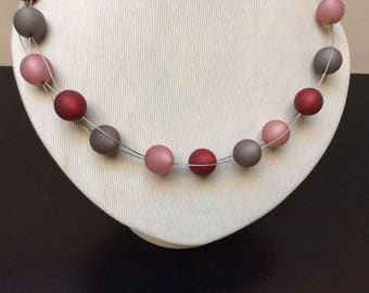 Necklace, Polaris, 14 mm, steel wire