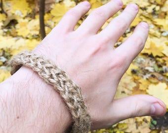 Braided bracelet Eco Gift Accessory Handmade Love