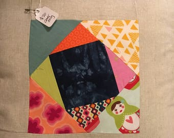 Patchwork Pillow Cover 16x16
