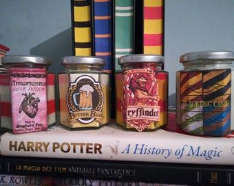 Set 4 Harry Potter Candles