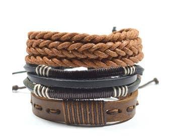 3 Pack Dapper Bracelet Set