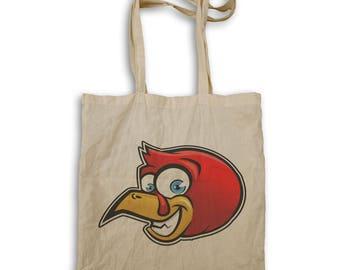 Red Chicken Head Tote bag u618r