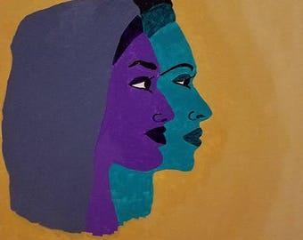 Sisterhood on canvas