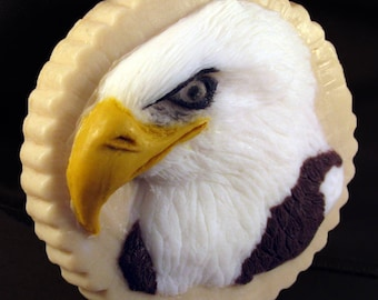 Eagle soap hand carved handmade gift bar
