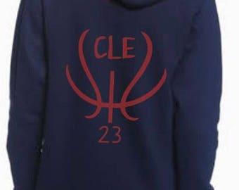 Cleveland Cavaliers basketball Zip up Hoodie