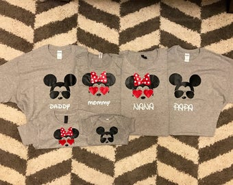 Personalized Disney Tees