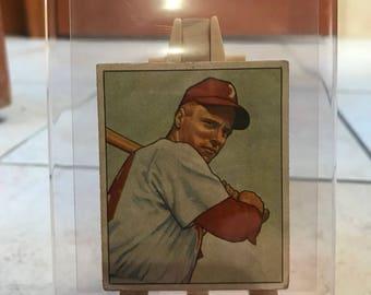 1950 Bowman Richie Ashburn card.