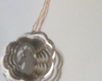 Horse spinner ornament