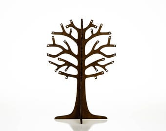 Jewelry Tree / Earring Holder / Wooden Jewelry Tree / Jewelry Stand / Gift for any woman / Wooden Jewellery Organizer