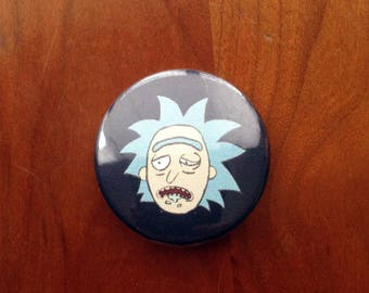 """Rick 1.5"""" Pinback Button"""