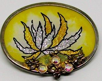handmade vintage brooch