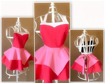 Sleeping Beauty Aurora inspired child apron