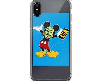 Bitcoin Mickey iPhone Case