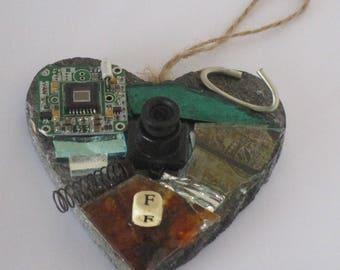 Heart Mosaic Whisker